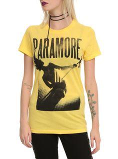 Paramore Hayley Yellow T-Shirt