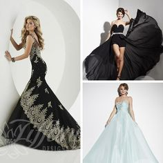 MORE fabulous gowns! - By Tiffany Designs & Studio 17  #eogowns  #prom2016  #prom  #promdress  #promgown  #prom2k16  #fashion  #fashionista  #ohlala #beautiful  #unique  #love  #LNK
