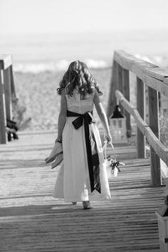 Wild Dunes Resort Wedding Photos// Flower Girl photo.  Too Cute!