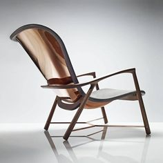 Winner of Design et al International Product Design Awards and functional, the Silhouette chair is strikingly crafted from a single copper panel which has been hand rolled and hammered. This age-old technique used by coachbuilders Design Furniture, Chair Design, Wood Furniture, Modern Furniture, Unusual Furniture, Furniture Upholstery, Muebles Art Deco, Traditional Chairs, Chairs For Sale