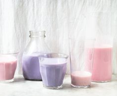 Recipe: Easy homemade strawberry and blueberry milk, made with honey and fresh…