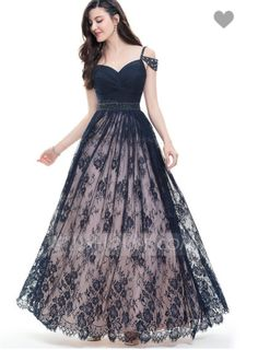 4a5cce90af00c Ball-Gown Sweetheart Floor-Length Lace Prom Dresses With Ruffle Beading  Sequins (018105679)