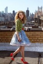 I know it isn't the cool thing, but I'm so psyched for The Carrie Diaries