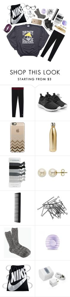 """TYSM for 1500!!"" by pineappleprincess1012 ❤ liked on Polyvore featuring NIKE, Casetify, S'well, Lord & Taylor, GHD, H&M, J.Crew, Eos, FOSSIL and Fitbit"
