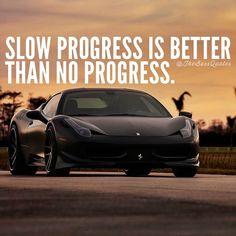 Slow is better than no. #TuesdayMotivation #quotes #qotd #quoteoftheday #motivation #inspiration #lifehacks #lifegoals #goals