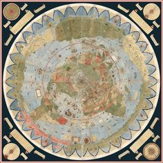 Explore the Largest Known Early Map of the World, Assembled for the First Time