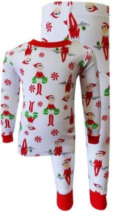 Elf on the Shelf 100% Cotton Christmas Pajamas