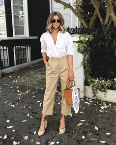 50 Fabulous Summer Work Outfit Ideas In 2019 - My style - Summer Outfits Date Outfit Casual, Casual Work Outfits, Work Attire, Mode Outfits, Fashion Outfits, Fashionable Outfits, Fashion Clothes, Outfit Work, Office Outfits