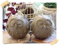 Most current Screen Slab Pottery animals Style Garten-Keramik: Was wohl daraus wird? Slab Pottery, Ceramic Pottery, Pottery Art, Clay Owl, Clay Birds, Cerámica Ideas, Pottery Handbuilding, Pottery Animals, Ceramic Birds