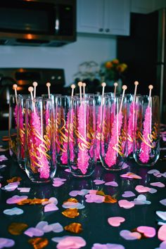 Ideas for a last minute Galentine's Party day party punch Last Minute Galentine's Party day party drinks Diy Party, Party Favors, Party Ideas, Party Crafts, Glow Party, Event Ideas, Diy Crafts, Pink Parties, Birthday Parties