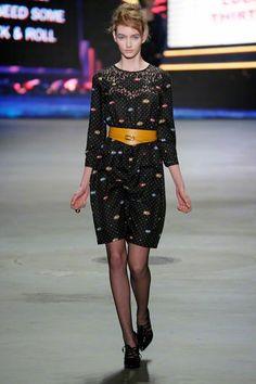 Spijkers en Spijkers Fall/Winter 2013 Peplum Dress, Sequin Skirt, Amsterdam Fashion, Fall Winter, Autumn, Womens Fashion, Fashion Trends, High Neck Dress, Punk
