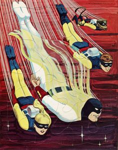 SPACE GHOST 1967 ... just a great cartoon and unusual super action hero!