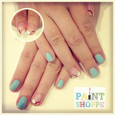 Another set of Rainbow nails #paintshoppenails #eastcoastroad #singapore #nails #nailart #manicure #pedicure #rainbow