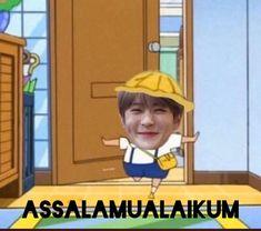 Ntc Dream, Fake Baby, Cartoon Jokes, Jaehyun Nct, Jung Jaehyun, Meme Template, Na Jaemin, Cute Memes, Kpop