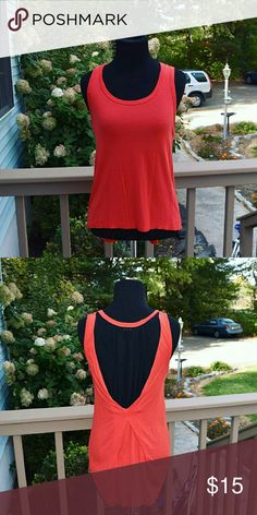 GORGEOUS Red Detailed Back Blouse Size small. In excellent condition. Tops Blouses