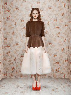 Look book very ladylike da estilista Ulyana Sergeenko