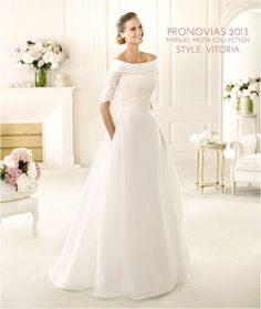Wedding Gowns I Love: Pronovias 2013 Manuel Mota Collection
