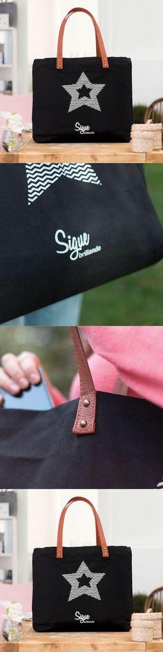 Bolsos negros de tela - Bolsos de algodón