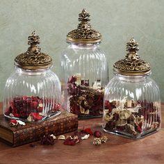 De Li Canisters Sets Lis Decor Glasses Jars Sets Antiques Decor