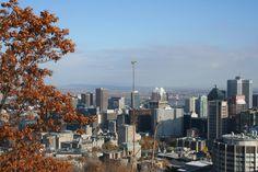 Vue sur Montréal depuis le belvédère du Mont Royal. Plus sur le blog.