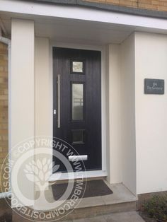More fitted Solidor Timber Composite Doors fitted throughout the UK by ourselves. take a look at just how much these can enhance a home, available for both DIY or fully fitted anywhere in the UK from our website #compositedoors #solidor #timbercompositedoors