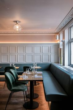 Allbright opens Mayfair club with all-female art on the walls Architecture Restaurant, Restaurant Design, Interior Architecture, Bar Interior, Shop Interior Design, Shop Interiors, Office Interiors, Public Space Design, Bathroom Design Luxury