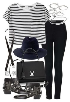 Untitled #18734 by florencia95 on Polyvore featuring AR SRPLS, Topshop, Chloé, Forever 21, Monica Vinader, Rebecca Minkoff, Penmayne of London and H&M