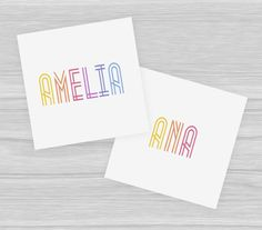 Lularoe Name Cards Lularoe Clothing Name 5x5 Lula Names by JustPSD