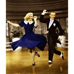 Colorization of Fred Astaire and Ginger Rogers in... - Filmc ...