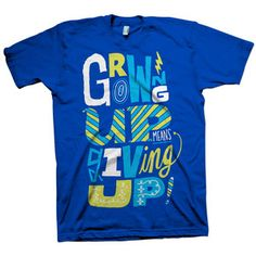 Growing Up Giving Up Tee Men's now featured on Fab.
