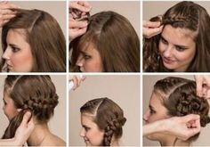Schnelle Alltags Frisuren Mittellanges Haar Yskgjt Com