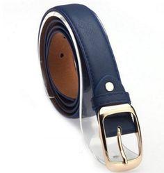 2017 Belts for Women Fashion Belts Cinturones Mujer Ladies Faux Leather Metal Buckle Straps Girls Fashion Accessories Leather Belt Buckle, Faux Leather Belts, Metal Buckles, Leather Jeans, Metal Belt, Girls Belts, Belts For Women, Leopard Belt, Women Accessories