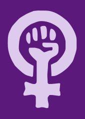 Uno de los símbolos del movimiento feminista alemán, a partir de la década de 1970