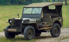 Willys MB: The Jeep that started it all . Jeep Cj, Jeep Truck, Jeep Wrangler, Jeep Rubicon, Military Jeep, Military Vehicles, Station Wagon, Pickup Trucks, Motorhome