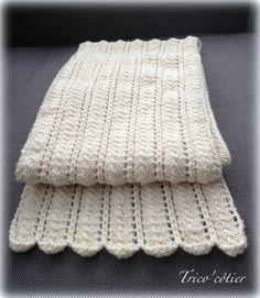 Brrrr ! Pour contrer le froid ! Echarpe et TUTO