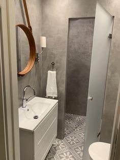Kylpyhuoneremontit » Rakennus Trombit Oy - Saunaremontti Helsinki, Vanity, Mirror, Bathroom, Furniture, Home Decor, Dressing Tables, Washroom, Powder Room