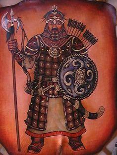 Mongolian Armor Of Mongol Warriors Of Great Mongolian Empire - 336x448 - jpeg