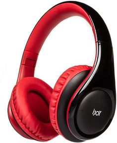 Amazon.com: iJoy ISO Wireless, Bluetooth Headphones-Cordless Over Ear Stereo Headset- Bluetooth 5.0, 30HR Battery Built-in Microphone- Handsfree or Wired Use, Foldable (Black/Red): Home Audio & Theater Cordless Headphones, Headphones With Microphone, Wireless Headset, Bluetooth Headphones, Over Ear Headphones, Headphone With Mic, Theater, Audio, Headpieces