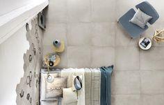 Rewind Collection: Concrete Effect Porcelain Stoneware | Ragno