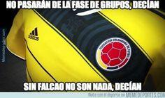 Meme Selección de Colombia Mundial Brasil 2014