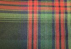 Hanley Plaid Ralph Lauren Fabric - Houndstooth Fabric - Manor Collection