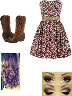 """""""Church Outfit"""" by soccermegan15 ❤ liked on Polyvore. With a jacket over it"""