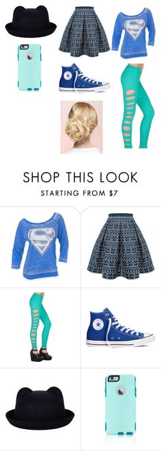 """Untitled #151"" by dawnlions on Polyvore featuring Rumour London, Tripp, Converse, OtterBox, women's clothing, women, female, woman, misses and juniors"