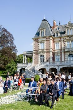 Ivan & Thi's elgant destination wedding at Chateau Bouffemont, Paris France. Relaxed, natural wedding photography by Lydia Stamps Photography. French Wedding, Destination Weddings, Paris France, Dolores Park, Stamps, Wedding Photography, Elegant, Nature, Photos