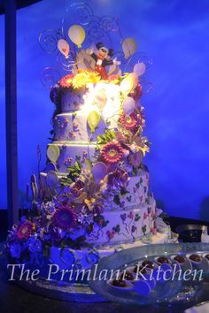 Custom Cakes Anyone? Disney is Famous for Creating Lavish one of a Kind Wedding Cakes.