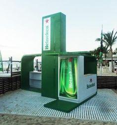 Otra vista de la estación Heineken BPM -Playa del Carmen 2011
