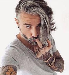 40 Anmutige Silber-Frisuren für Männer im Jahr 2016 - http://frisur-ideen.net/40-anmutige-silber-frisuren-fur-manner-im-jahr-2016/