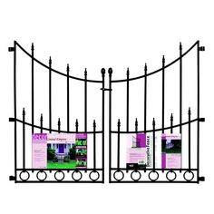 decorative protective garden fencing lowes - Google Search