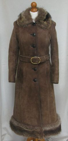 Vintage WOOLEA GENUINE Sheepskin Coat | eBay | Fashion & Clothing ...