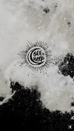 Ode To Sleep by Twenty One Pilots Lyrics | Desktop & Phone Wallpapers, Minimal Grunge Design Inspiration by Kaespo